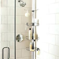 simple human shower caddy shower photo adjule simplehuman corner shower caddy
