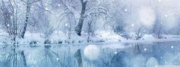 Winter Snowfall Ultra HD Desktop ...