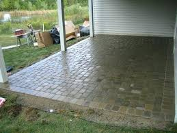 square paver patio. Brilliant Paver Square Paver Patio 16 In Rubber  To Square Paver Patio T