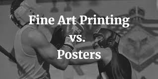 Fine <b>Art Prints</b> vs. <b>Posters</b>: What's the Difference? – Chilliprinting