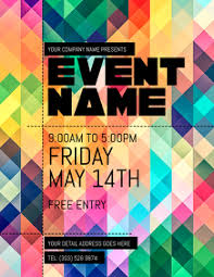 Free Printable Event Flyer Templates Event Flyers Free Magdalene Project Org