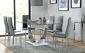 glass kitchen table incredible glass dining table chairs glass dining sets furniture choice chrome dining room