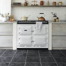 Black Kitchen Floor Tile Black Vinyl Kitchen Flooring Outofhome