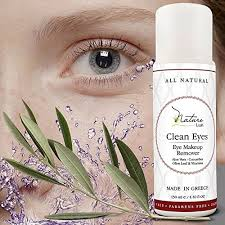 amazon the best natural eye face makeup remover oil free rich vitamins non irritating no hazardous chemicals clean eyes by nature lush
