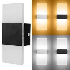 wall sconce lighting. Modern LED Wall Light Up Down Cube Indoor Outdoor Sconce Lighting Lamp Fixture