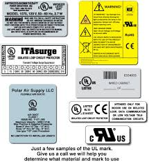 Ul Certified Labels - Baytechlabel.com