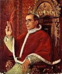 Image result for Photo of Pope pius XII