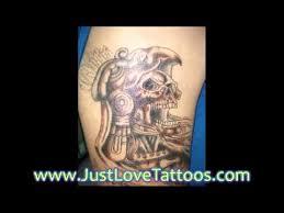 Aztec Tattoo Patterns Fascinating Aztec Mexican Tattoo Patterns Free YouTube