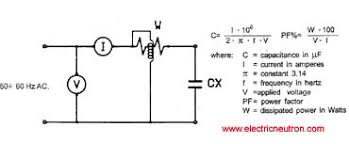Run Capacitor Sizing Chart Single Phase Capacitor Sizing Electrical Engineering Centre
