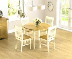 oak furniture dining table drop leaf extending set with chairs land round glass