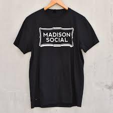 Black Madison - Tee Social Drinker