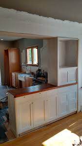 Kitchen Pass Through Manual Kitchen Pass Through Cabinetry And Trim Molding Progress