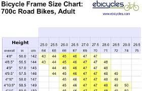 Specialized Road Bike Size Chart Www Bedowntowndaytona Com