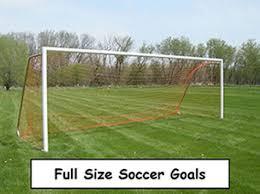 Small Size Kids Childs Mini Football Soccer Goal Post Net Set Soccer Goals Backyard