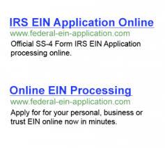 Onlineein Ein Id Online Federal - Tax
