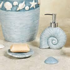Bathroom Beach Accessories Seashell Bathroom Decor Seashells Bathroom Decor Style Sea Shells