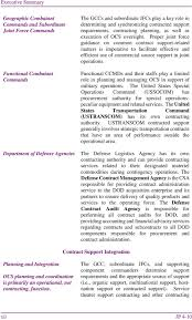 Joint Forces Command Organization Chart Joint Publication Operational Contract Support Pdf