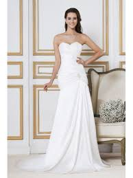 strapless wedding dresses simple strapless lace beach wedding