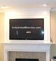 tv installation above fireplace flat screen mounting installation above fireplace install tv mount brick fireplace