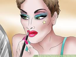 makeup image led get your pas to let you wear s clothes step 10 wearing make how to ask