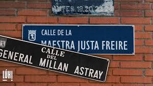Continúa la lucha por mantener la calle Maestra Justa Freire en Madrid tras  el rechazo de