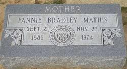 Fannie Augusta Mathis (Bradley) (1886 - 1974) - Genealogy