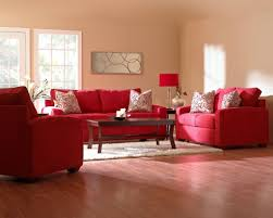 Living Room With Red Sofa Red Living Room Interior Design Idea White Red False Pop Ceilinng