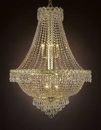cjd cg 2176 24 french empire crystal chandelier