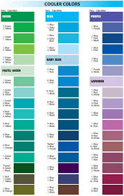 Satin Ice Mixing Guide Cool Colours In 2019 Frosting