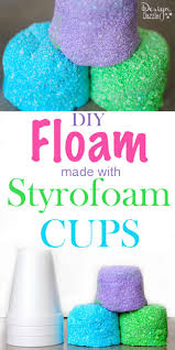 diy styrofoam cup floam i figured out how to make floam using styrofoam cups super easy and inexpensive way