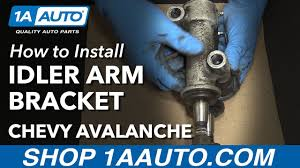 How to Install Replace Idler Arm Bracket 2002-06 Chevy Avalanche ...