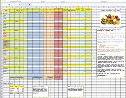 diet excel sheet diet excel spreadsheet new weight tracking sheet savesa