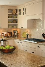 Backsplash For Santa Cecilia Granite Countertop Custom Santa Cecilia Granite Countertops Kitchen Ideas Kitchen Island
