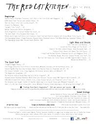 Soup Kitchen Menu The Red Cat Kitchen Menu Menu For The Red Cat Kitchen Oak Bluffs
