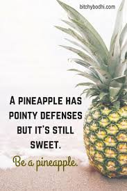 Pineapple Crown Quote Wallpaper Pineapple Printable Pineapple Quote