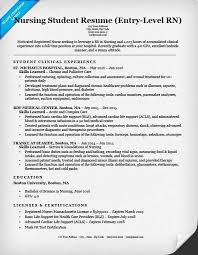 Nursing Resume Template 2018 Delectable Resume Examples Nursing Student Resume Examples Pinterest