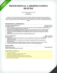 professional skills list examples of skills in resume laborer resume skills section resume
