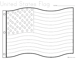 Printable Pictures Of The American Flag Free Printable Flag Coloring