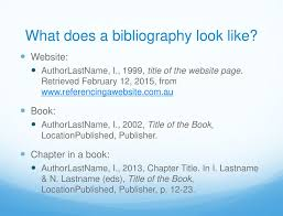 10 How To Write Bibliography For Website Resume Samples