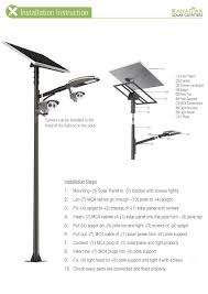 Street Lights And Park Lights Canadian Solar Outfitters