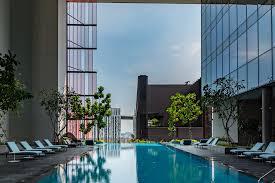 infinity pool singapore hotel. Infinity Pool - Club Floor Oasia Hotel Downtown Singapore