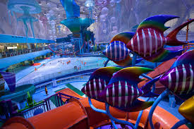 underwater water park. Featured Image For China Turns Olympic Stadium Into Colourful Underwater Theme Park Water