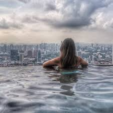 infinity pool singapore hotel. Photo Of Sands SkyPark Infinity Pool - Singapore, Singapore. Quite A View. \u003d Infinity Pool Singapore Hotel