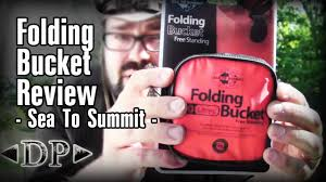 Sea To Summit 10l Folding Bucket Review Youtube