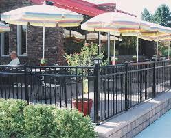 commercial aluminum railing
