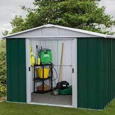 11 apex metal garden shed