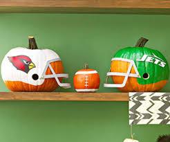 Football Pumpkin Carving Patterns Magnificent Design Ideas
