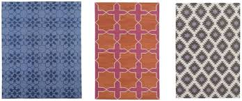 one famous designer of dhurrie rugs is madeline weinrib here are some of my favorite patterns from her collection
