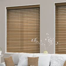 wood blinds. Brilliant Wood Majestic Oak Faux Wood Blind  50mm Slat On Blinds O