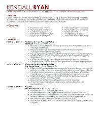 Customer Service Representative Resume Example Adorable Customer Service Representative Resume Sample Districte48
